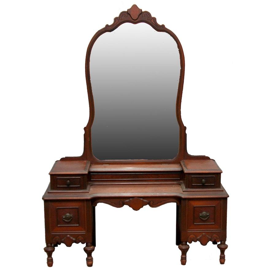 Circa 1930s Vanity With Mirror