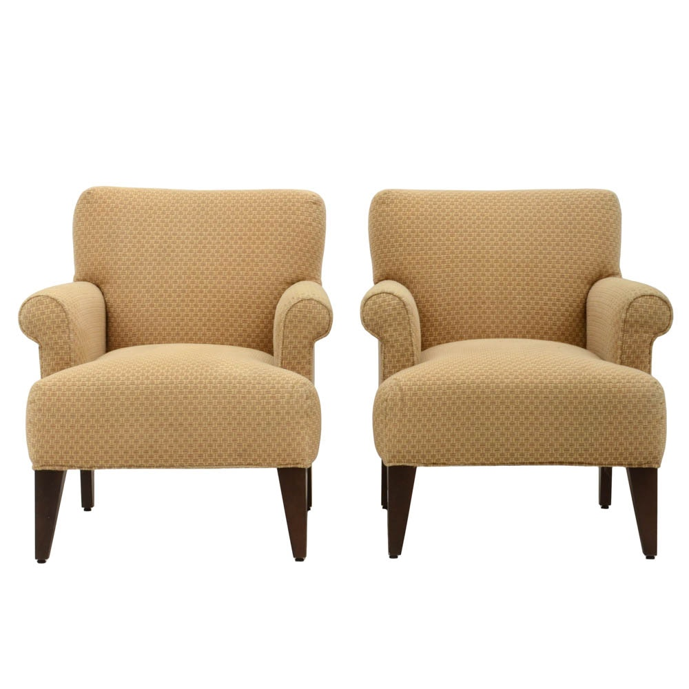Pair of Upholstered Amchairs