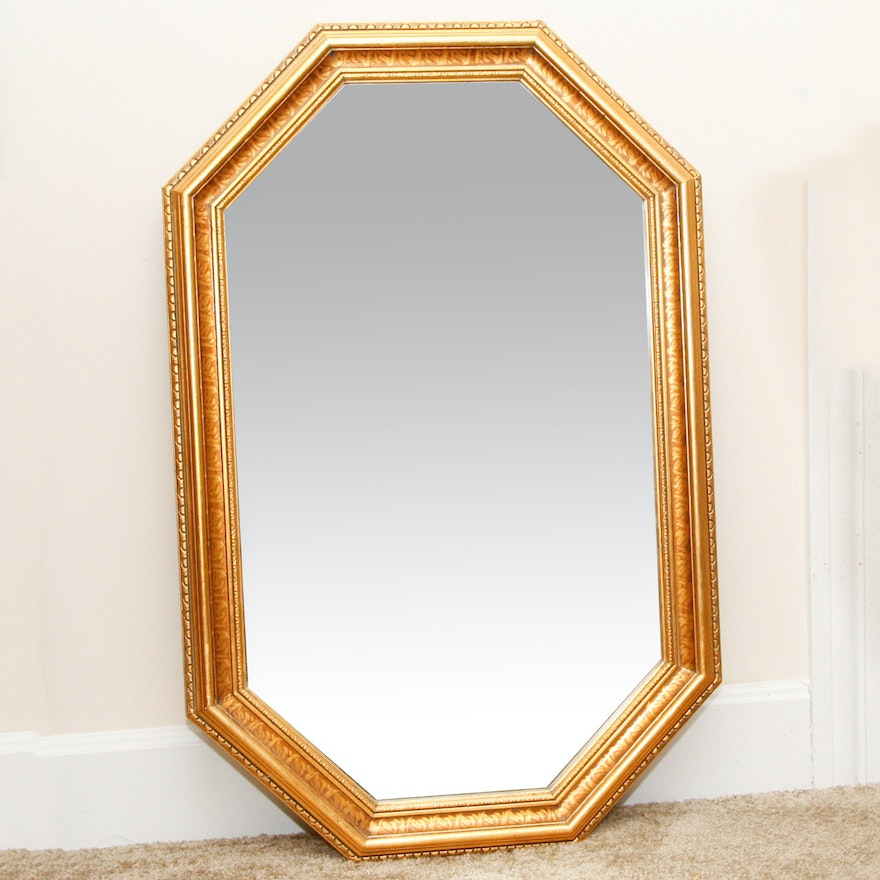 Carolina Mirror Company Octagonal Wall Mirror Ebth