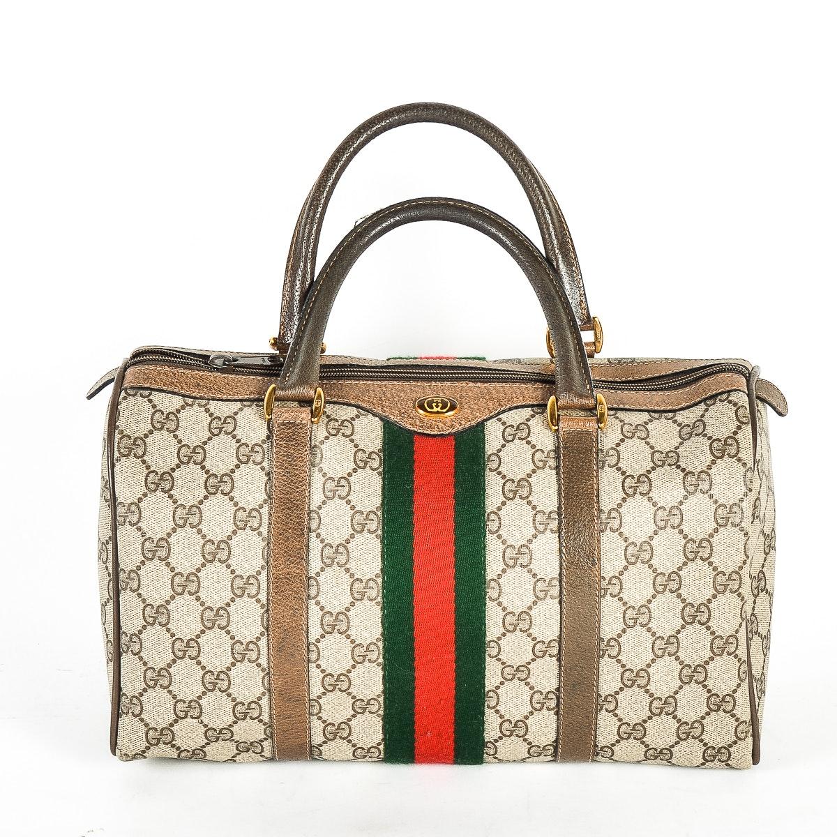 Vintage Gucci Monogrammed Handbag