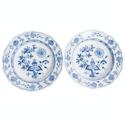 Meissen Blue Onion Pattern Bowls