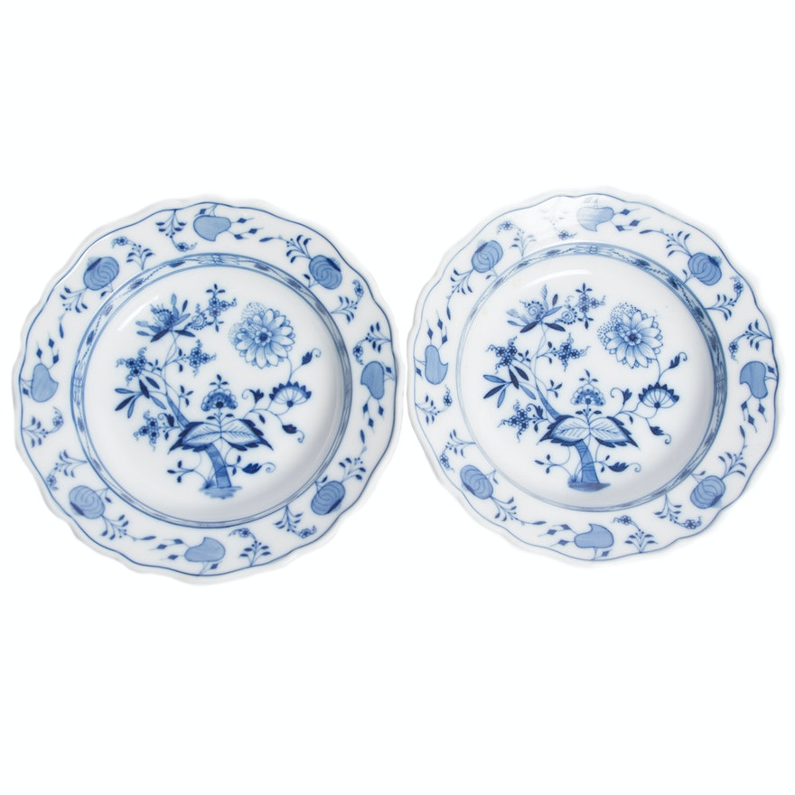 Meissen Blue Onion Pattern Bowls