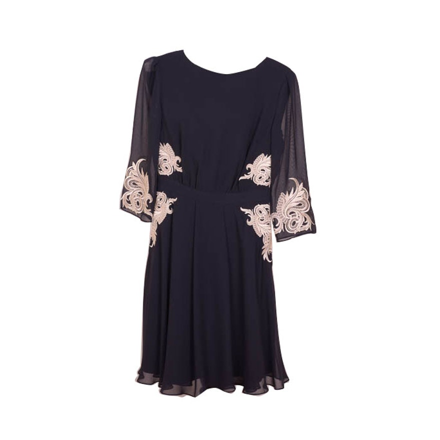 c437160b8c Ted Baker London Gaenor Embroidered Dress   EBTH