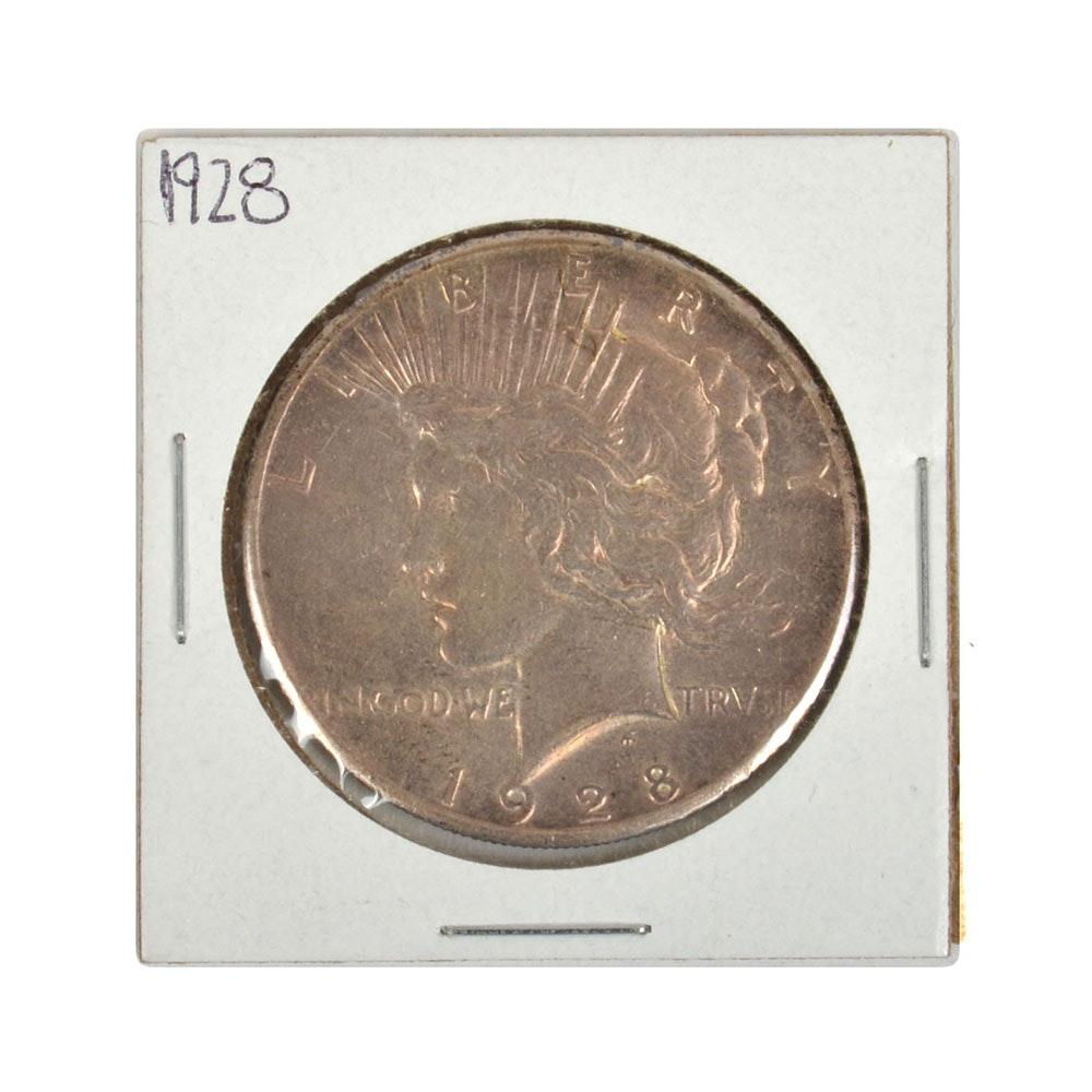 1928 U.S. Silver Peace Dollar