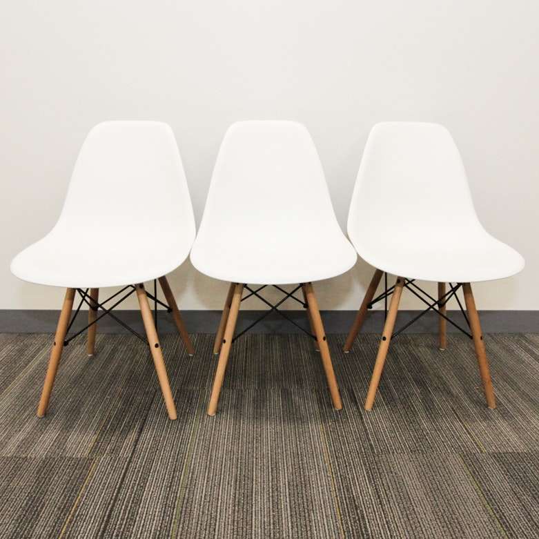 three eames style dsw chairs - Retro Chairs