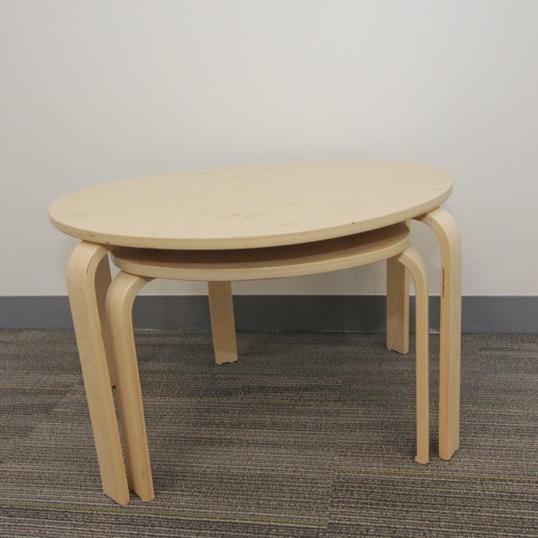 Ikea Svalsta Nesting Tables Ebth