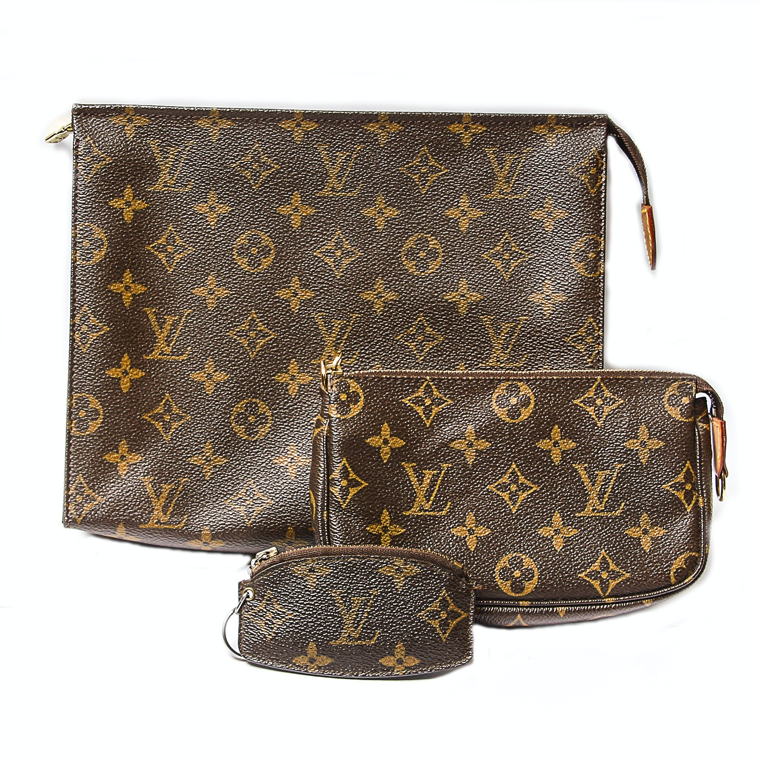Louis Vuitton Pouch, Cosmetics Bag and Coin Purse