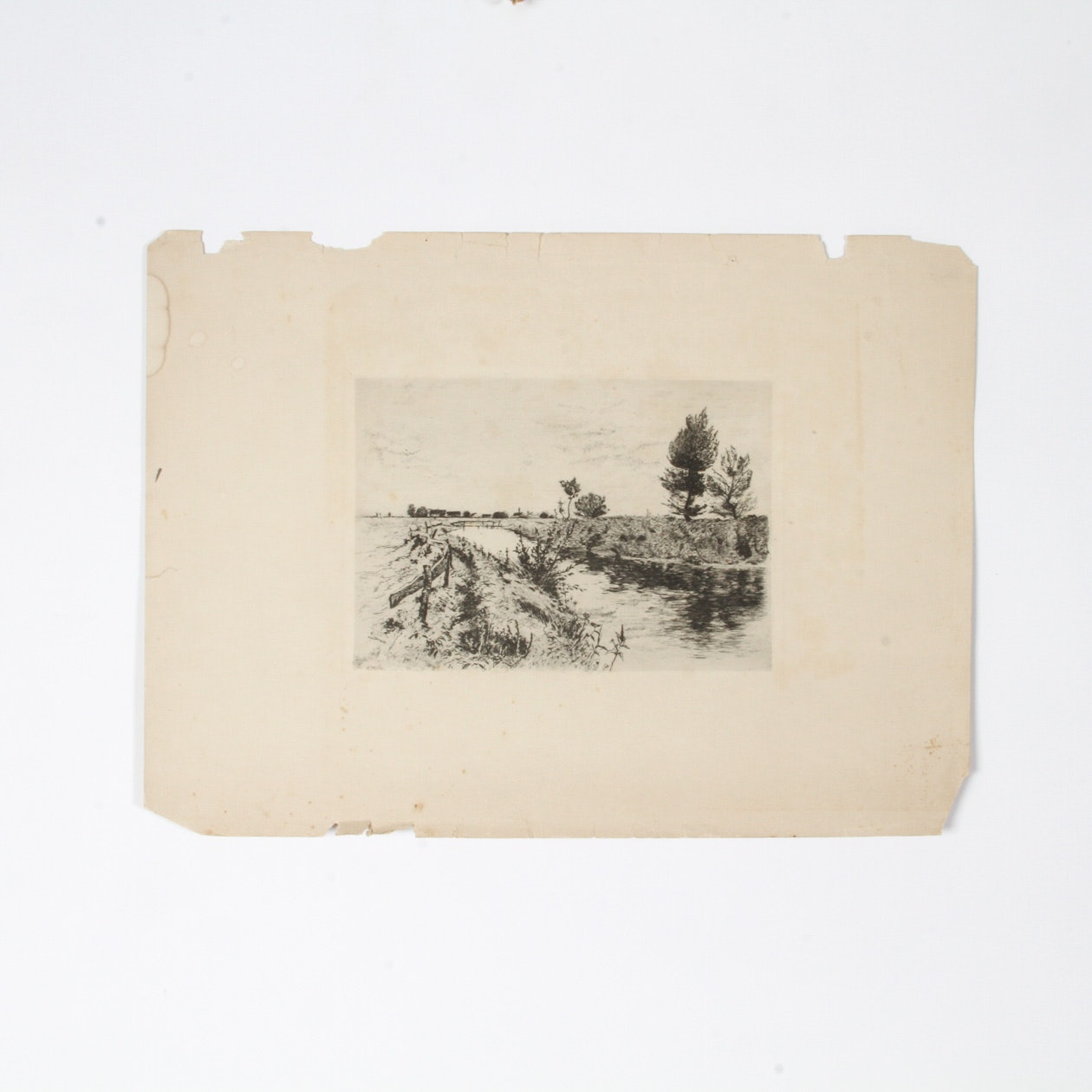Drypoint Etching on Paper
