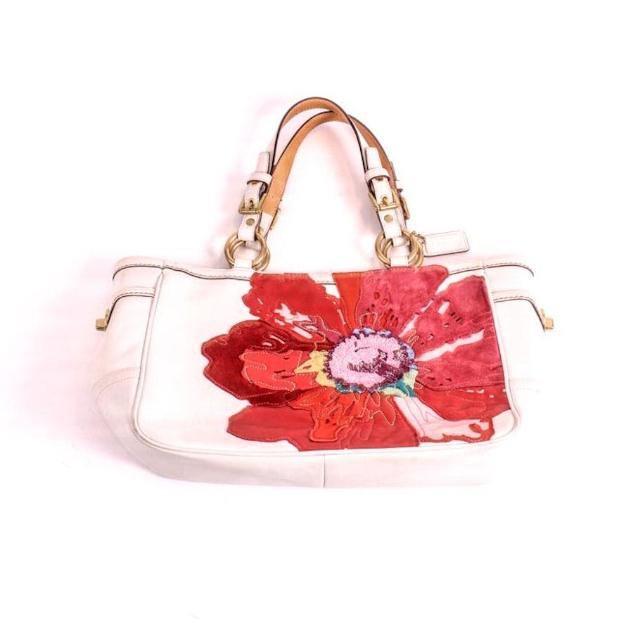 Limited Edition Coach Poppy Handbag Ebth