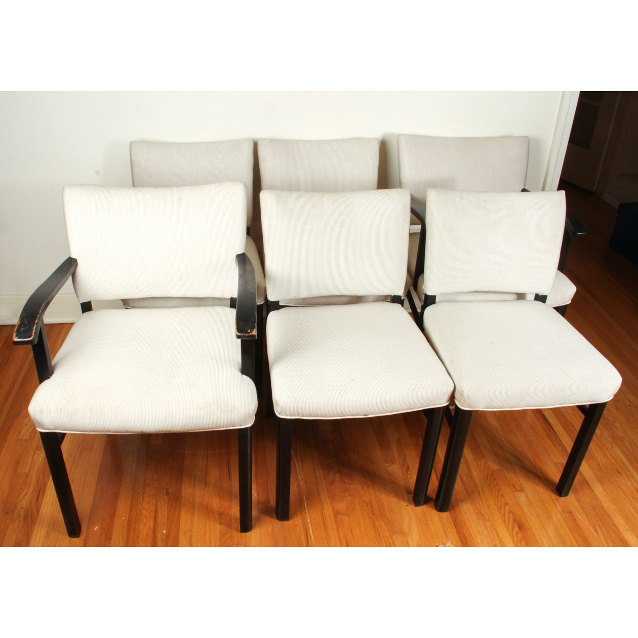 Set of Six Modern Dining Chairs