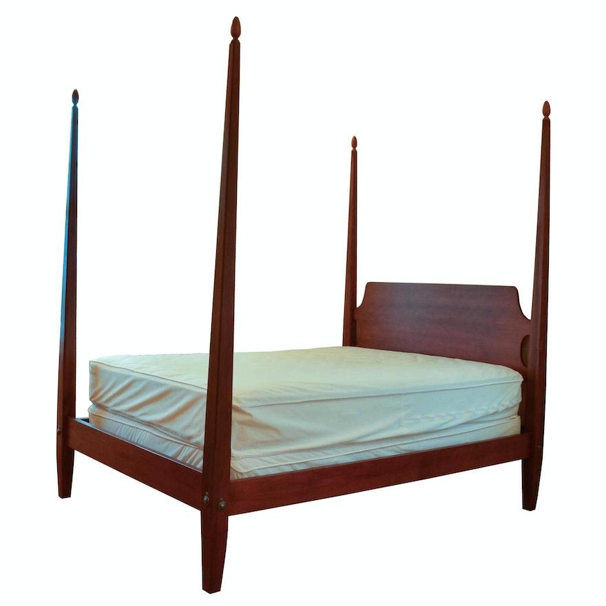 Ethan Allen Four Poster Barrett Bed Full Size