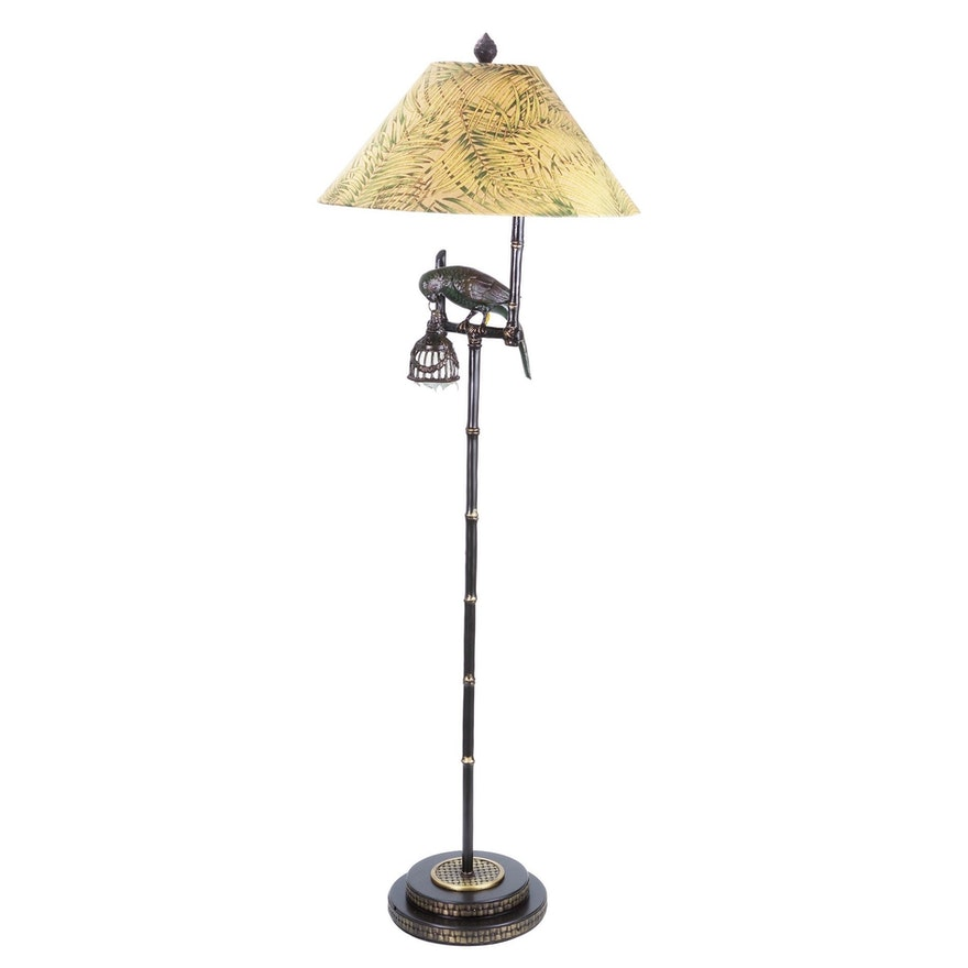 Frederick cooper parrot floor lamp in bronzed finish ebth frederick cooper parrot floor lamp in bronzed finish aloadofball Choice Image