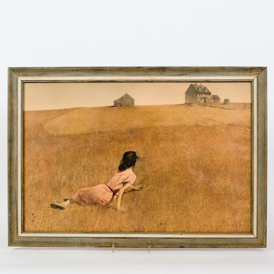 Offset Lithograph Quot Master Bedroom Quot By Andrew Wyeth Ebth