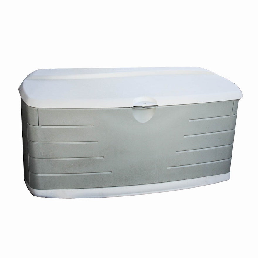 Outdoor Rubbermaid Storage Container