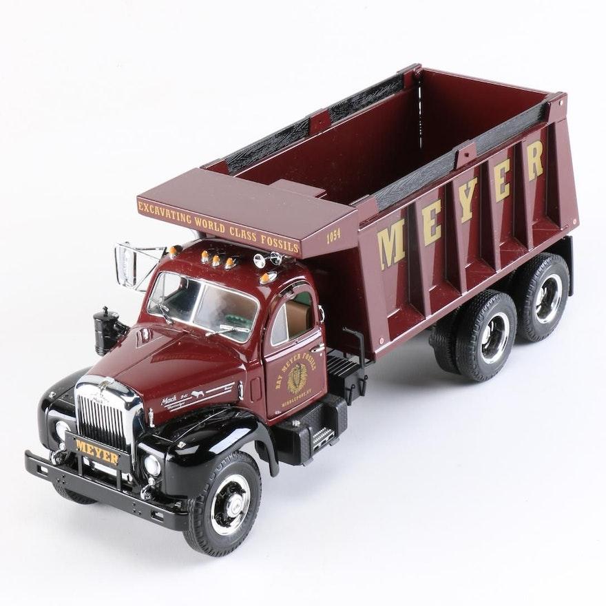 First Gear Mack R Model Dump Truck