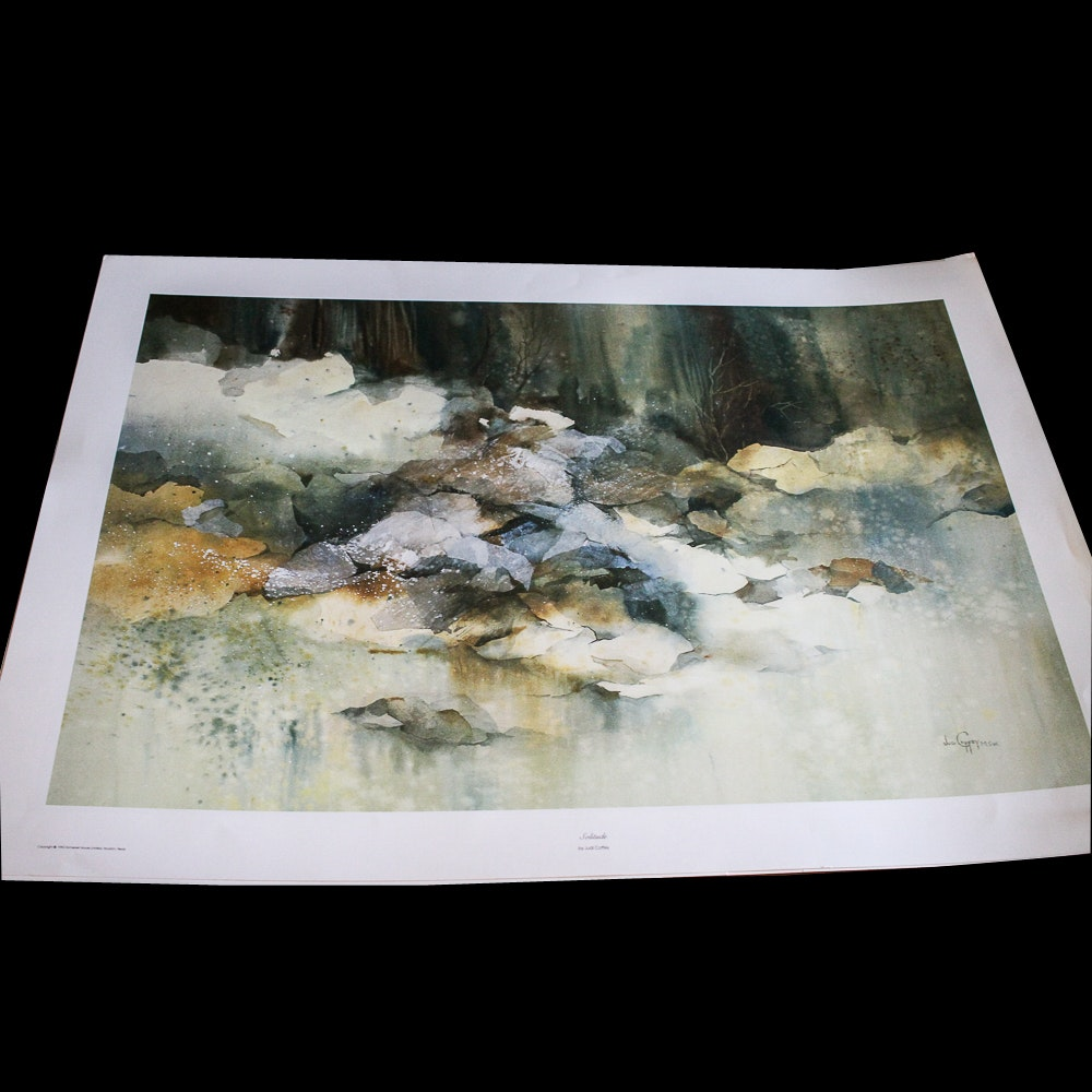 "After Judi Coffey Offset Lithograph ""Solitude"""