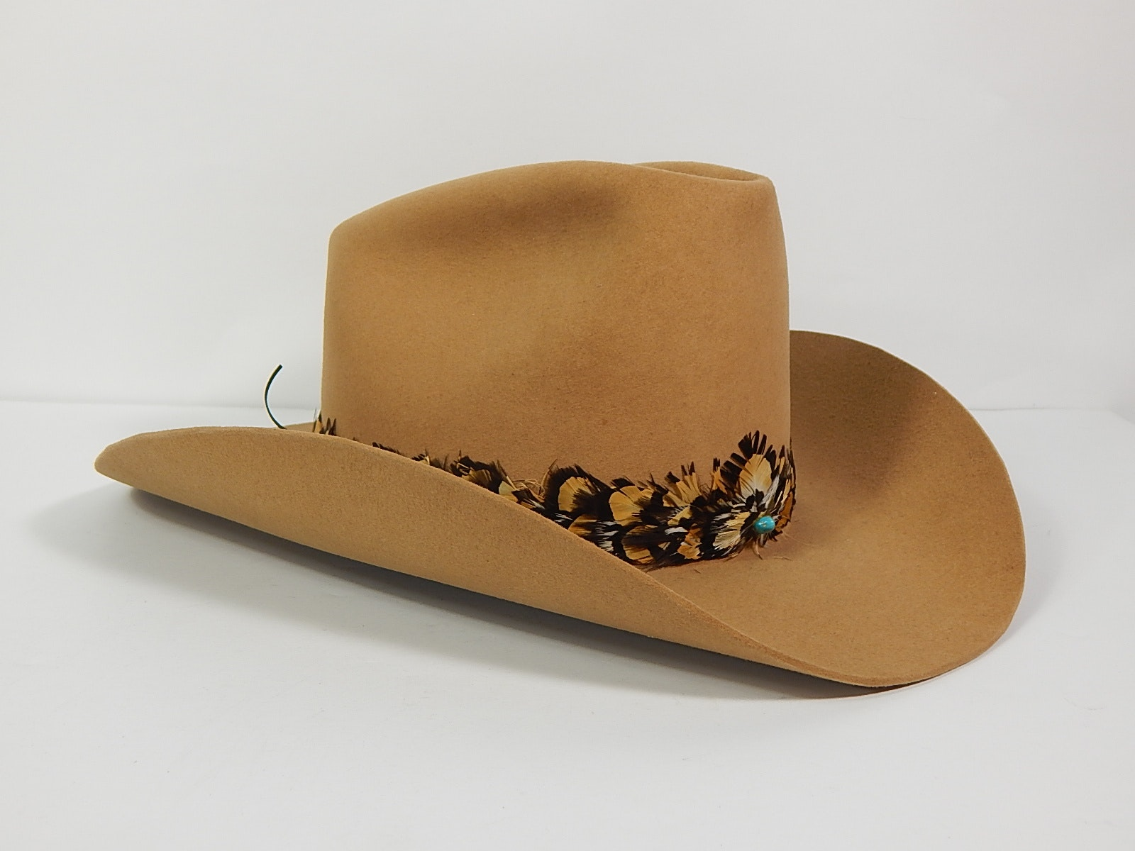 "Stetson XXXX ""Beaver"" Cowboy Hat with Pheasant Band"