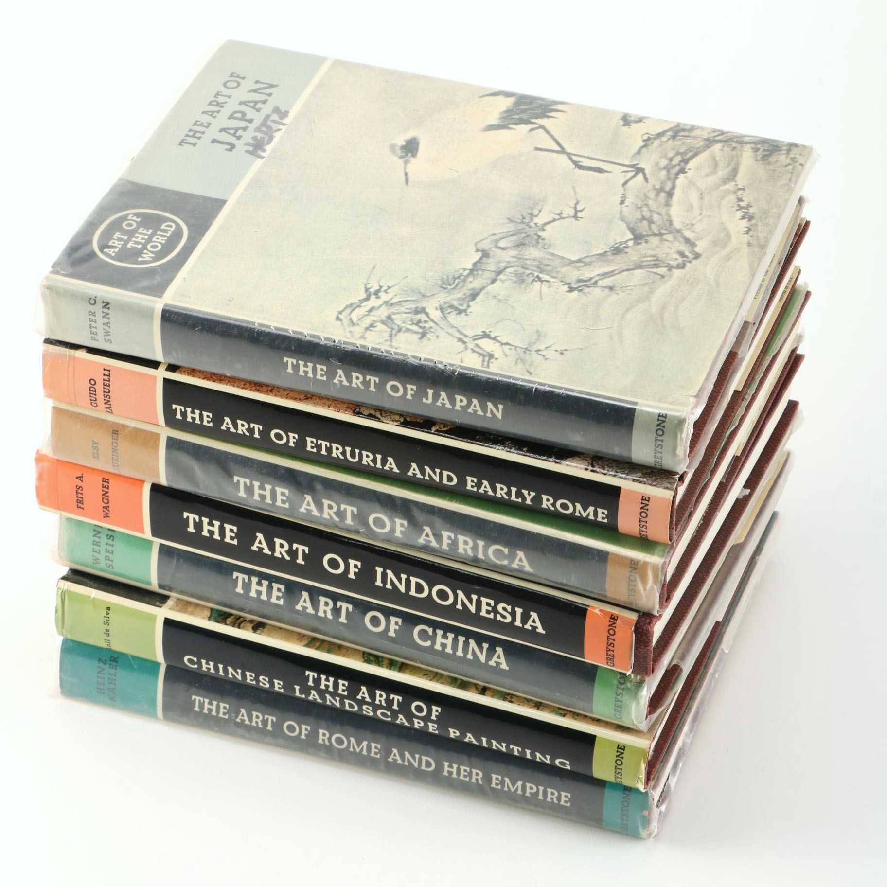 """Art of The World"" Books by Greystone Publishing"