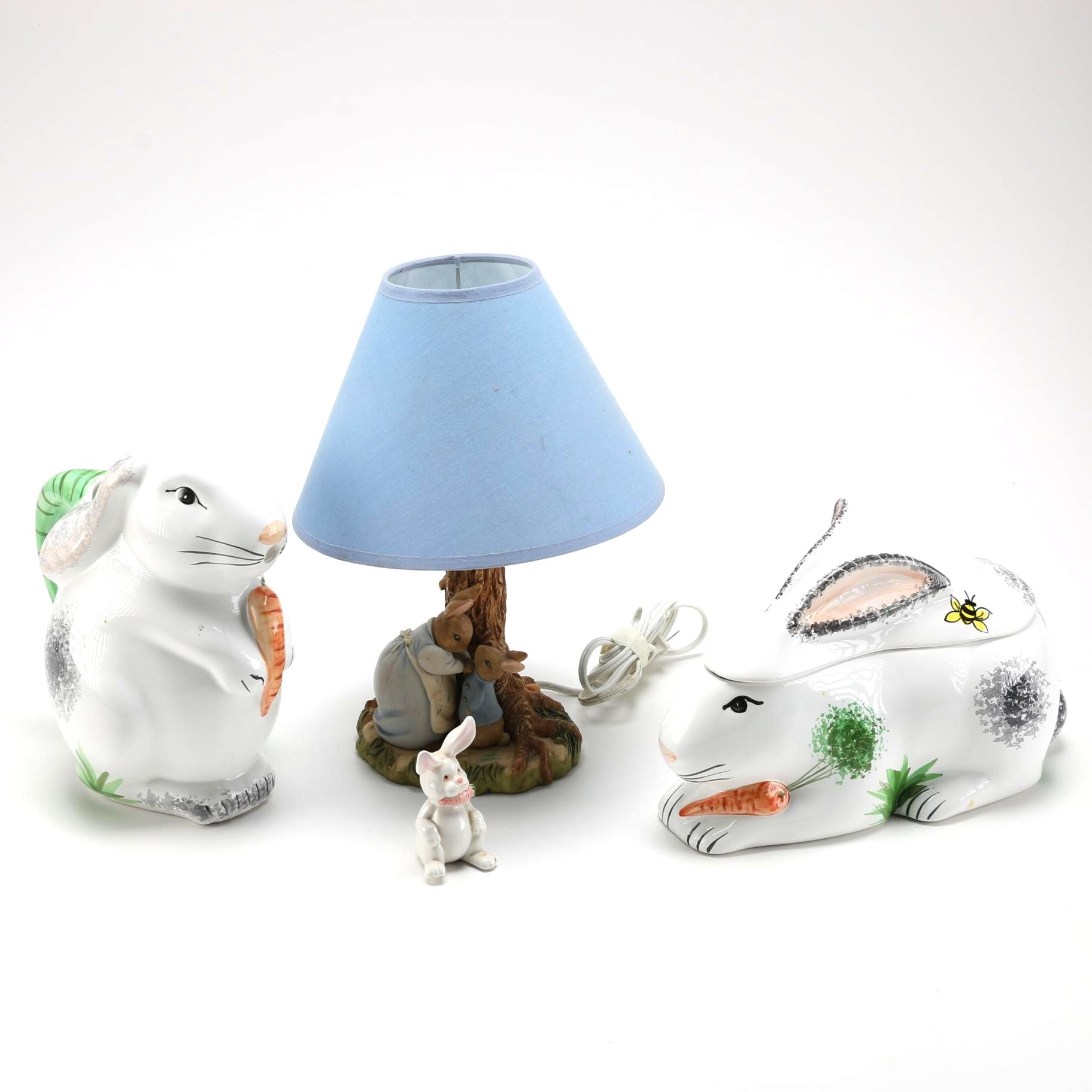 Collection of Rabbit Décor Items