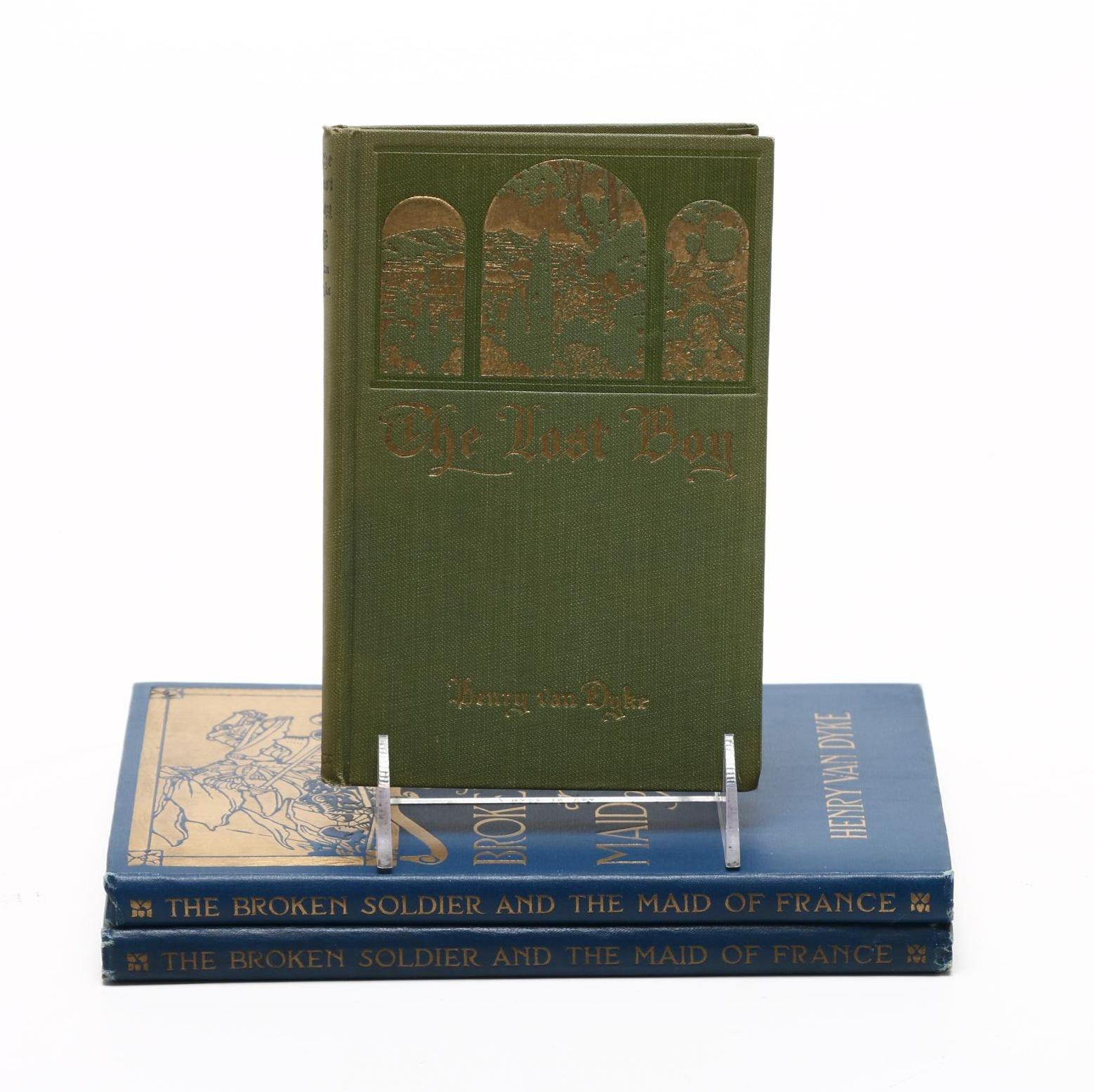 Hardcover Henry Van Dyke Novels