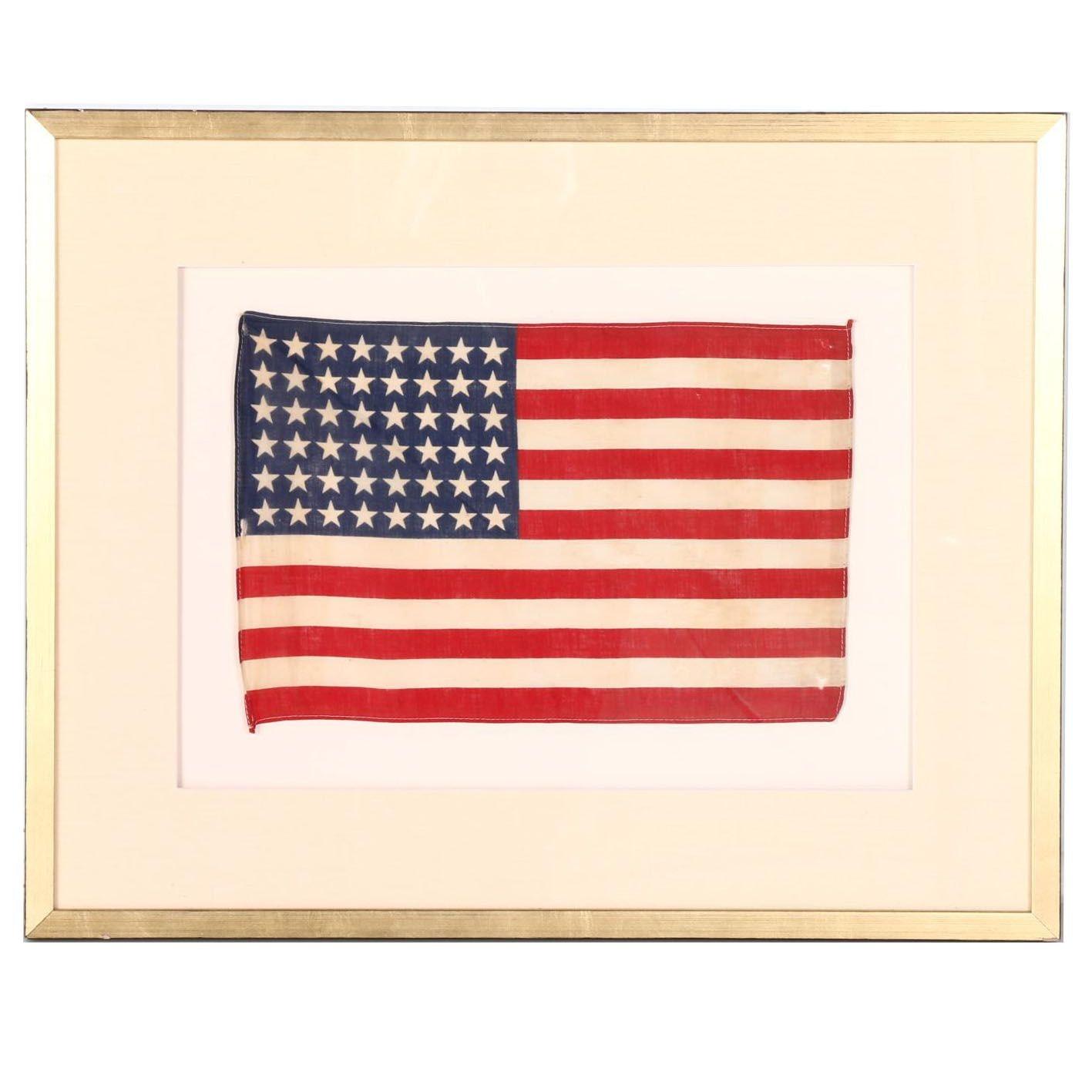 1912-1959 48 Star American Flag