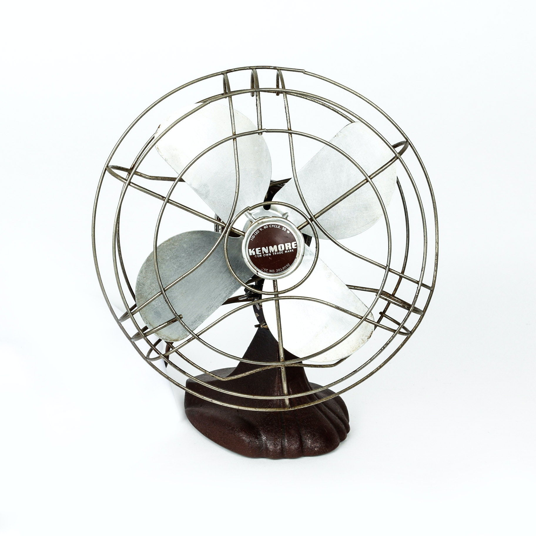 Vintage Kenmore No. 303.8032 Electric Fan
