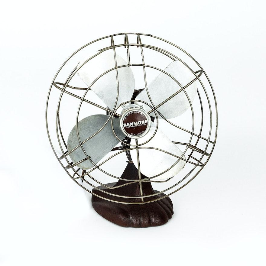 Vintage Kenmore No. 303.8032 Electric Fan