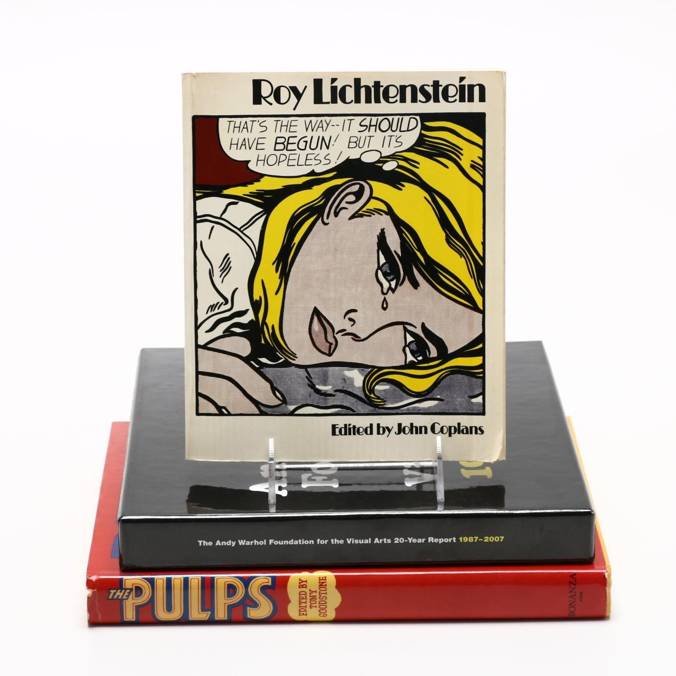 Pop Culture Art Books