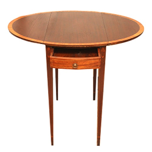 Exceptionnel Vintage Drop Leaf Side Table ...