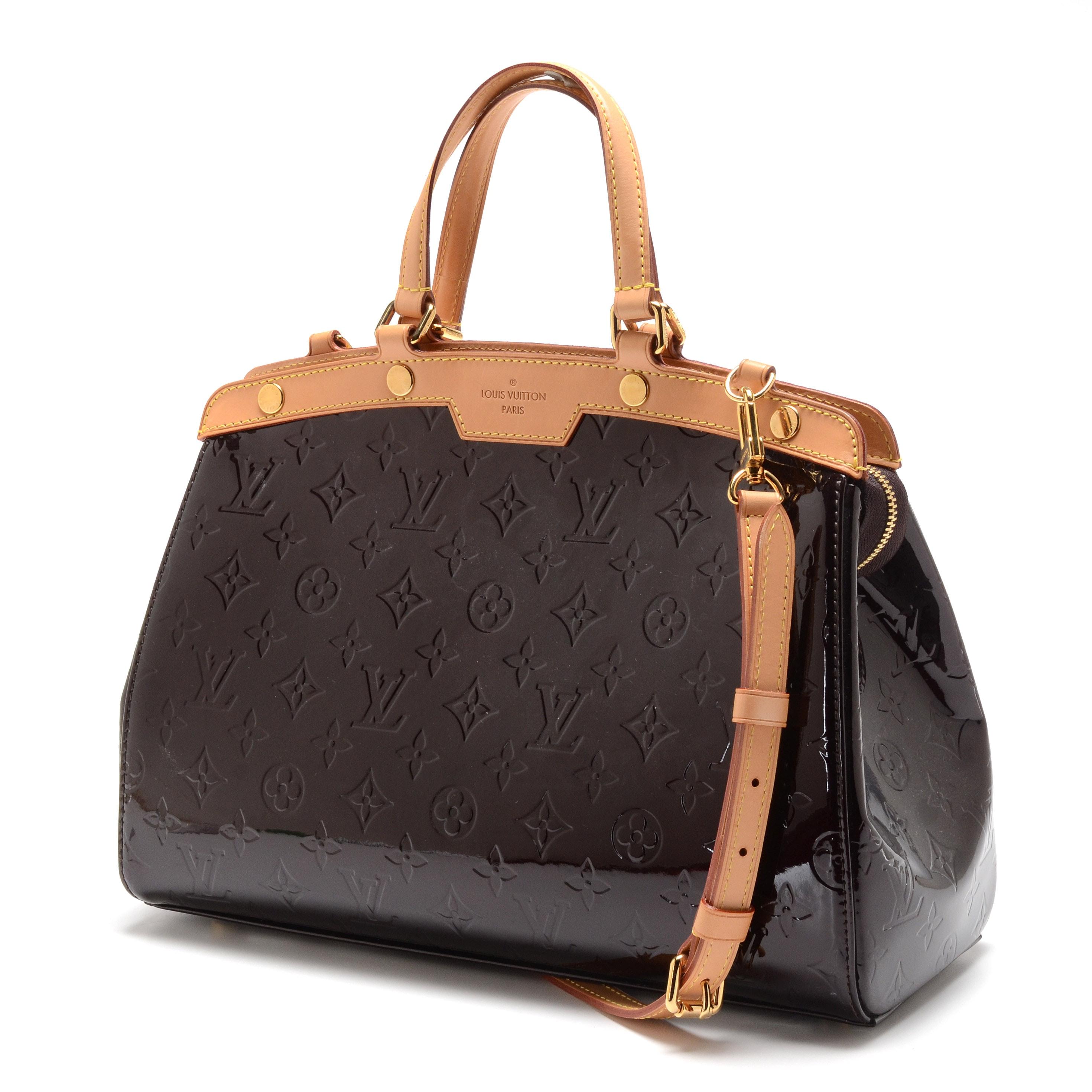 Louis Vuitton Amarante Vernis Brea MM