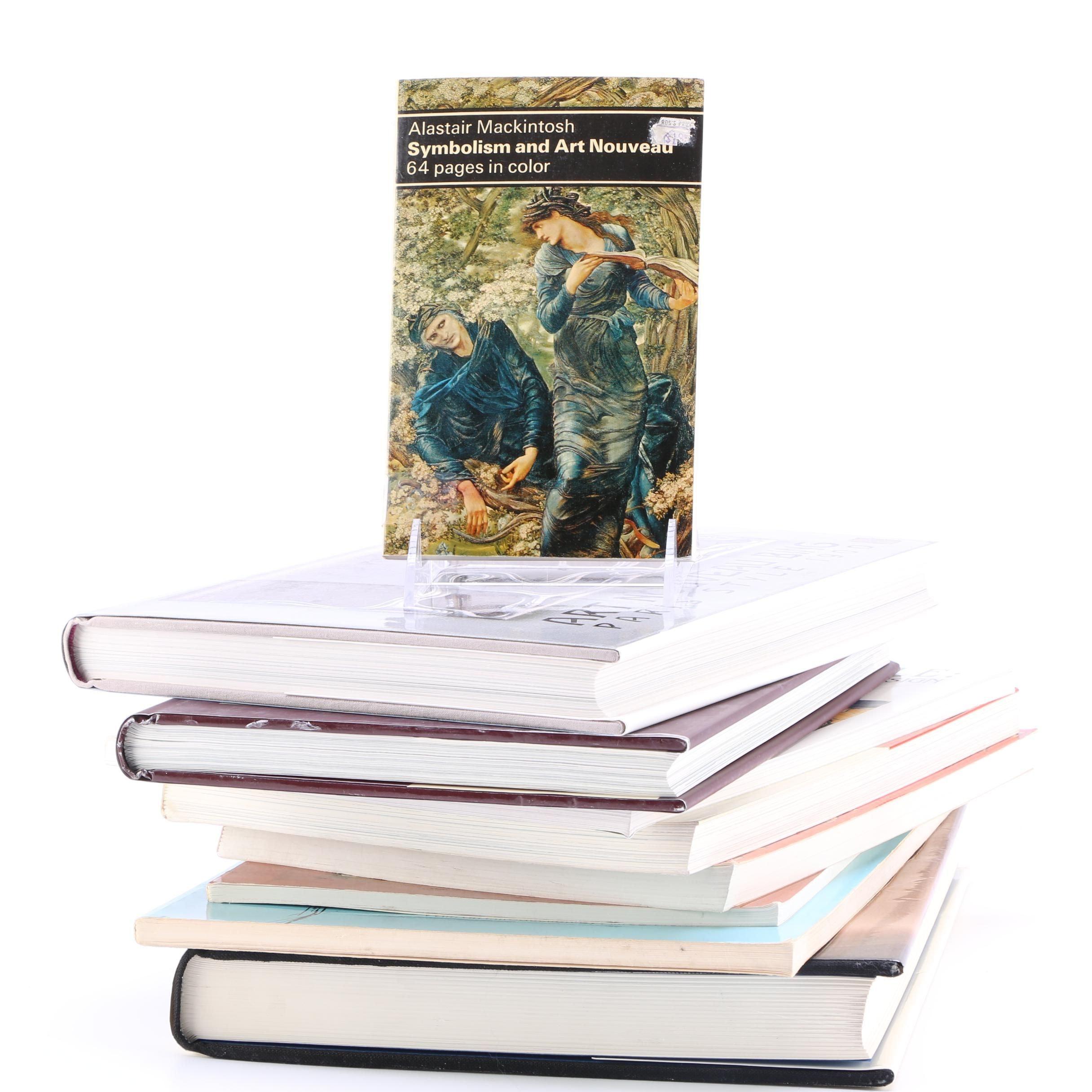 Group of Art Nouveau Books
