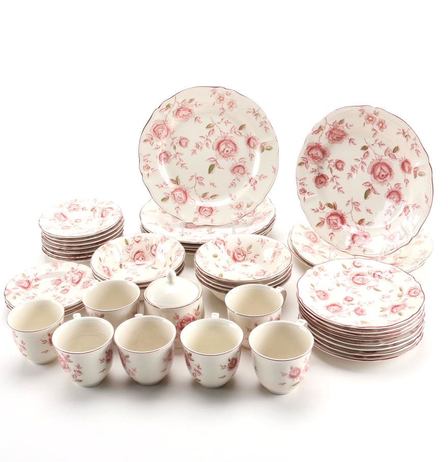 Nikko Tablemates  Rose Garden  China Dinnerware ...  sc 1 st  EBTH.com & Nikko Tablemates