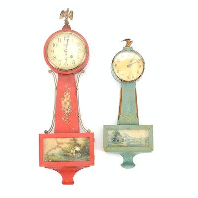 Antique New Haven Gingerbread Kitchen Shelf Clock Ebth