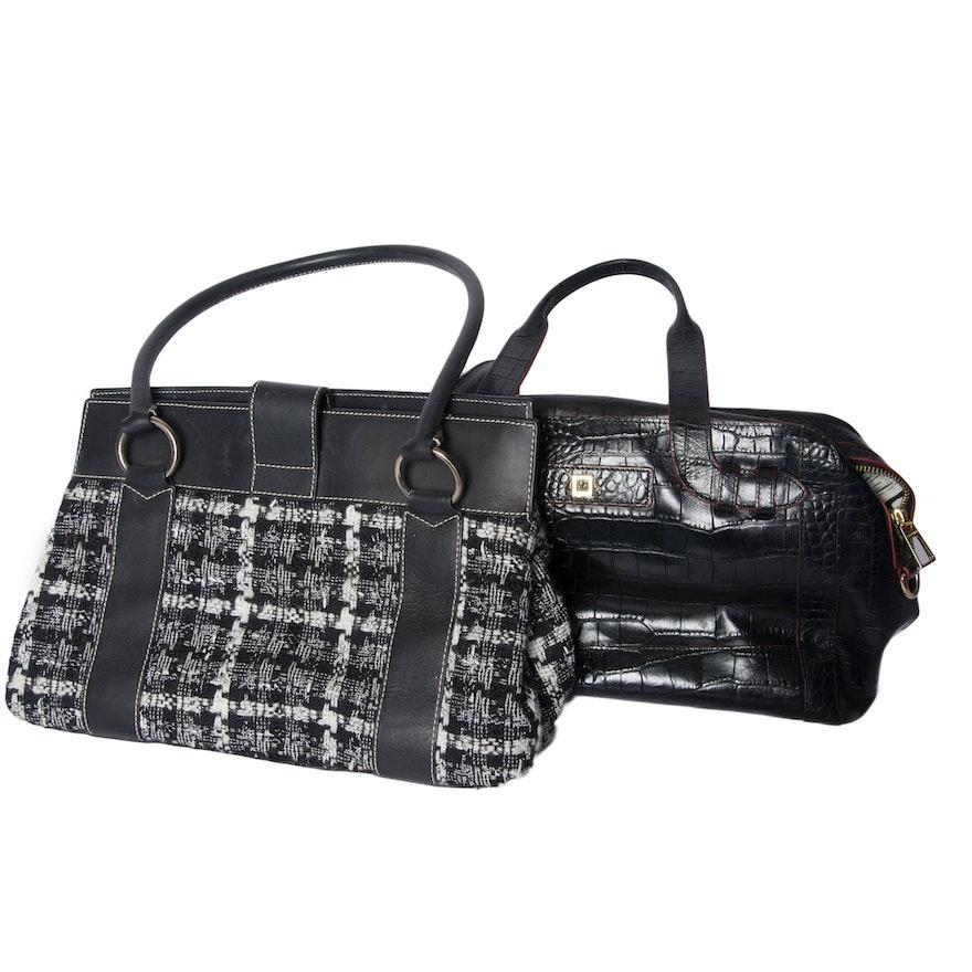 Pair Of St John And Lodis Handbags