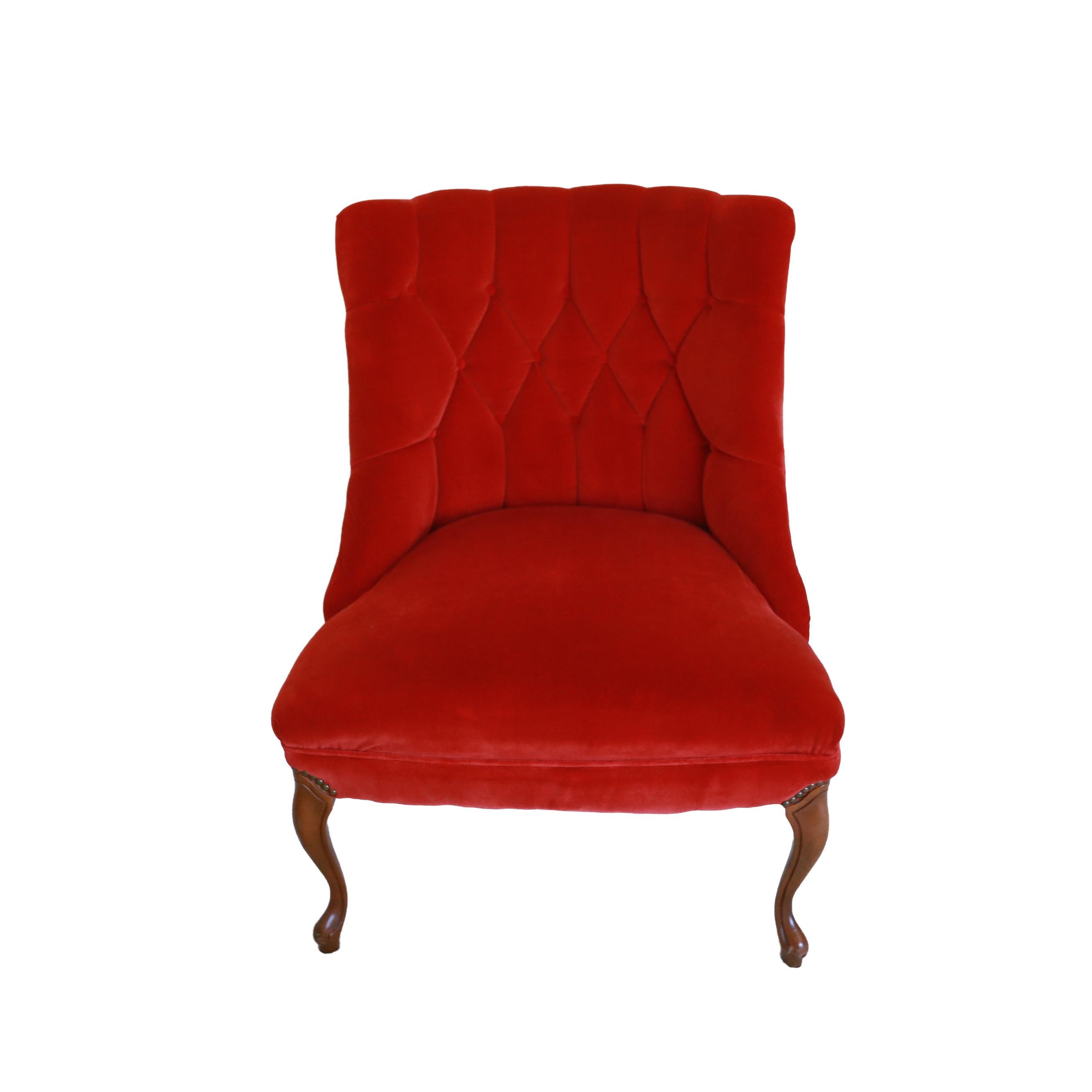 Circa 1970 Tufted Accent Chair