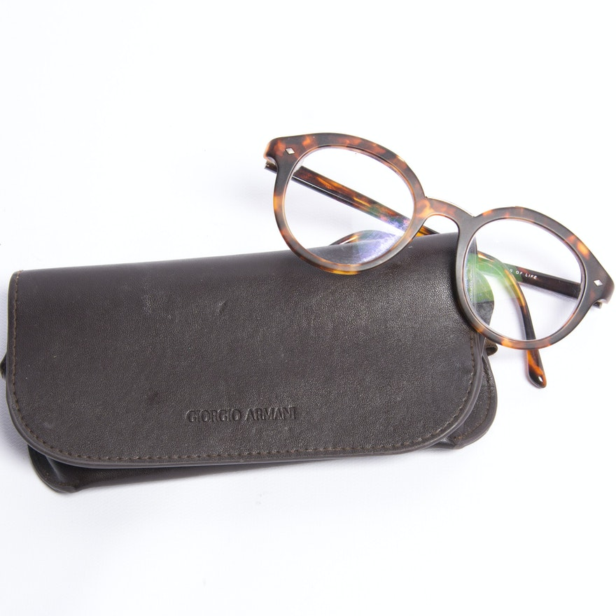 Giorgio Armani Eyeglass Frames : EBTH