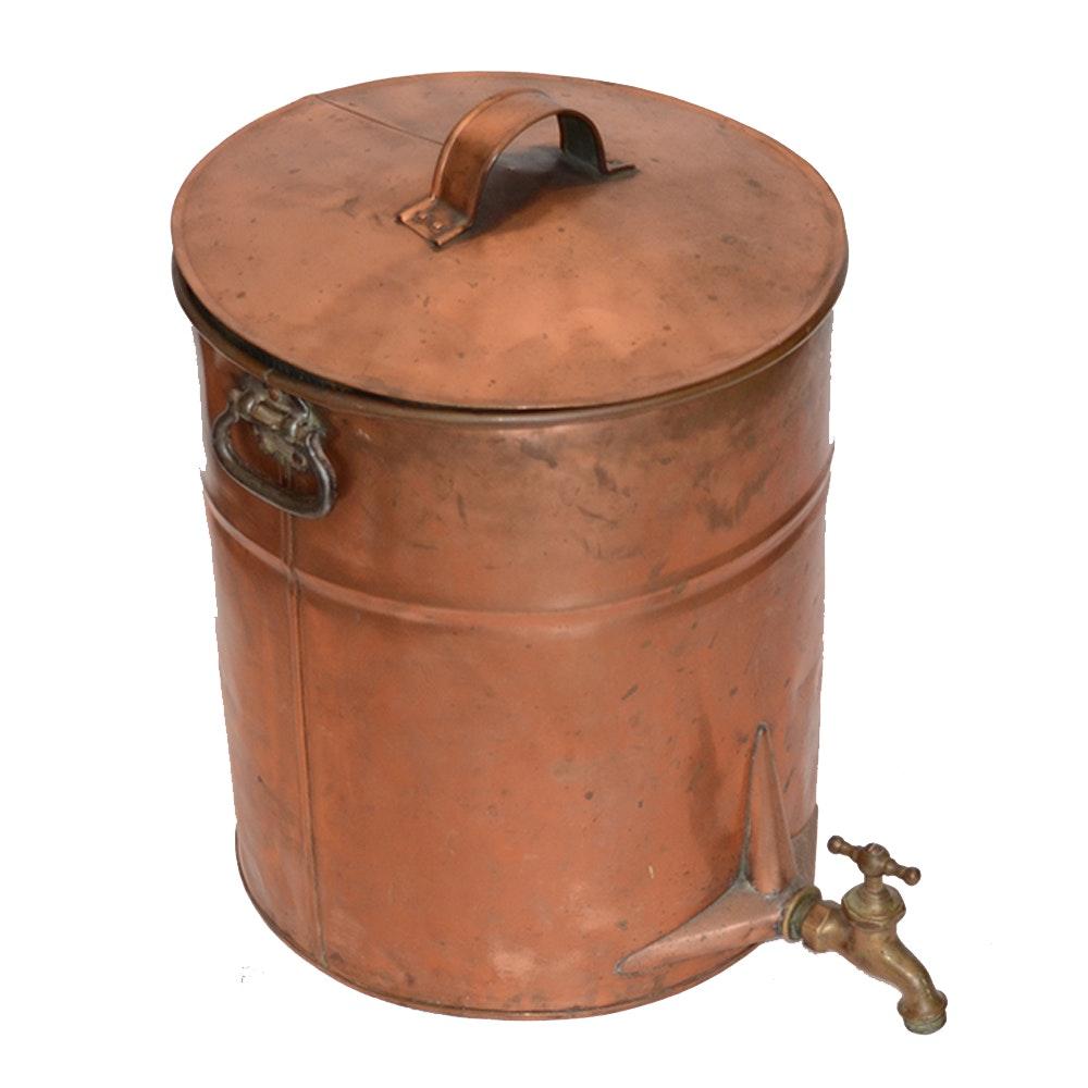 Vintage Copper Still with Spigot