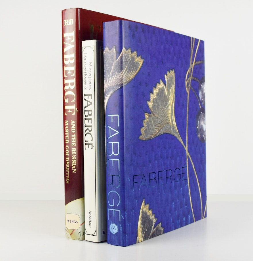 Three coffee table books referring to the work of carl faberge ebth three coffee table books referring to the work of carl faberge geotapseo Choice Image