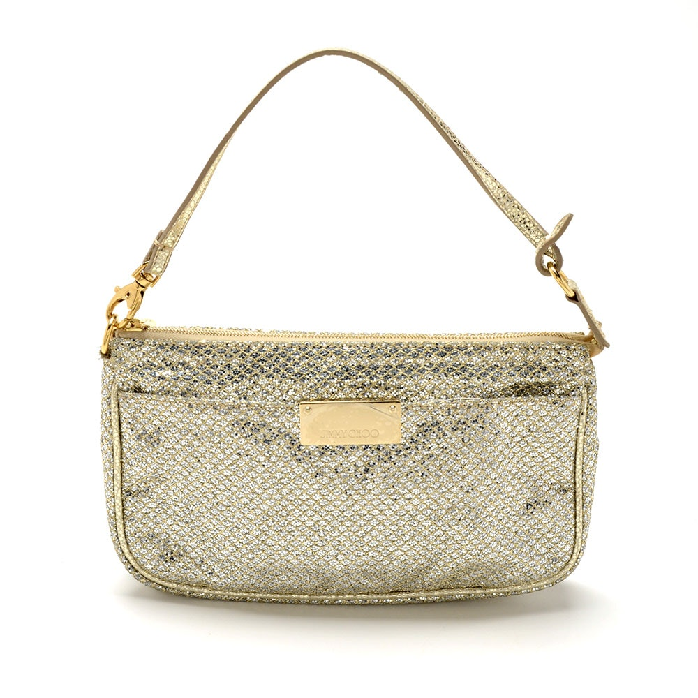 Jimmy Choo Metallic Glitter Handbag
