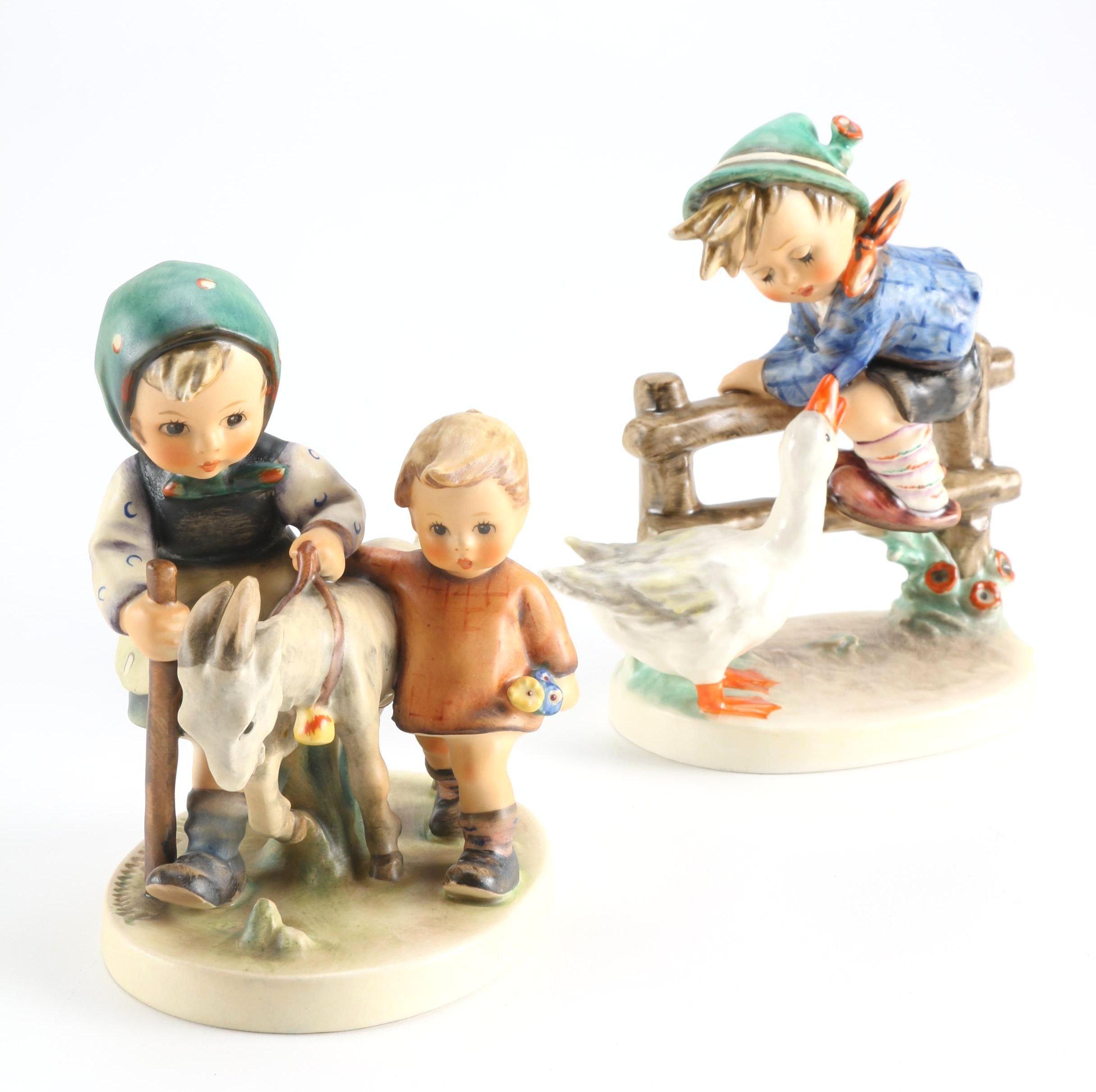Hummel Figurines Including Barnyard Hero