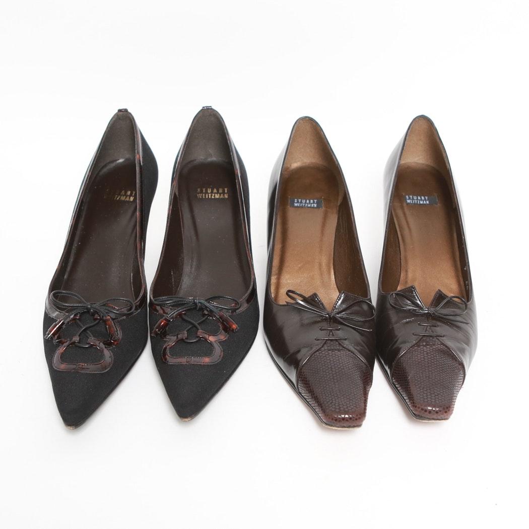 Grouping of Stuart Weitzman Dress Shoes
