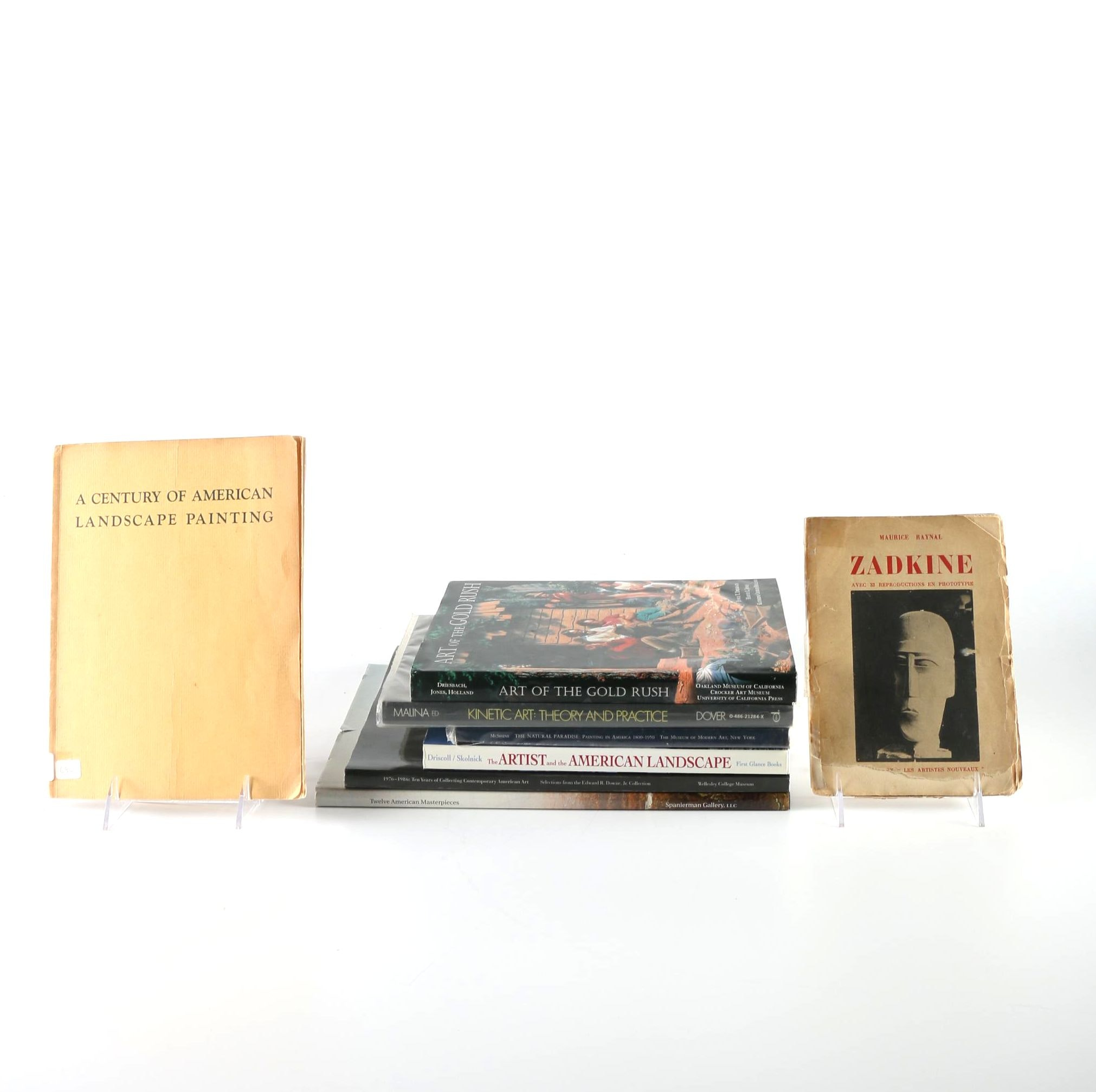 Set of Eight American Art Books