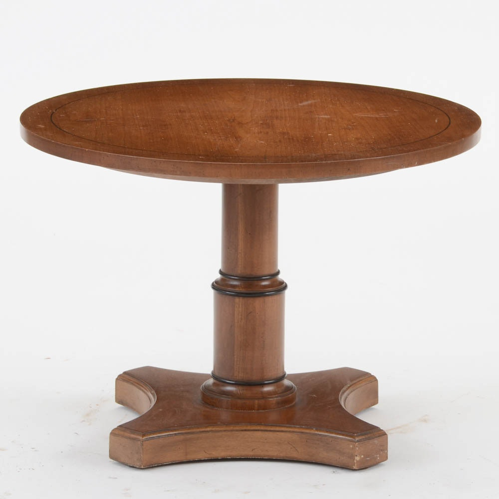 Empire Style Walnut Occasional Table