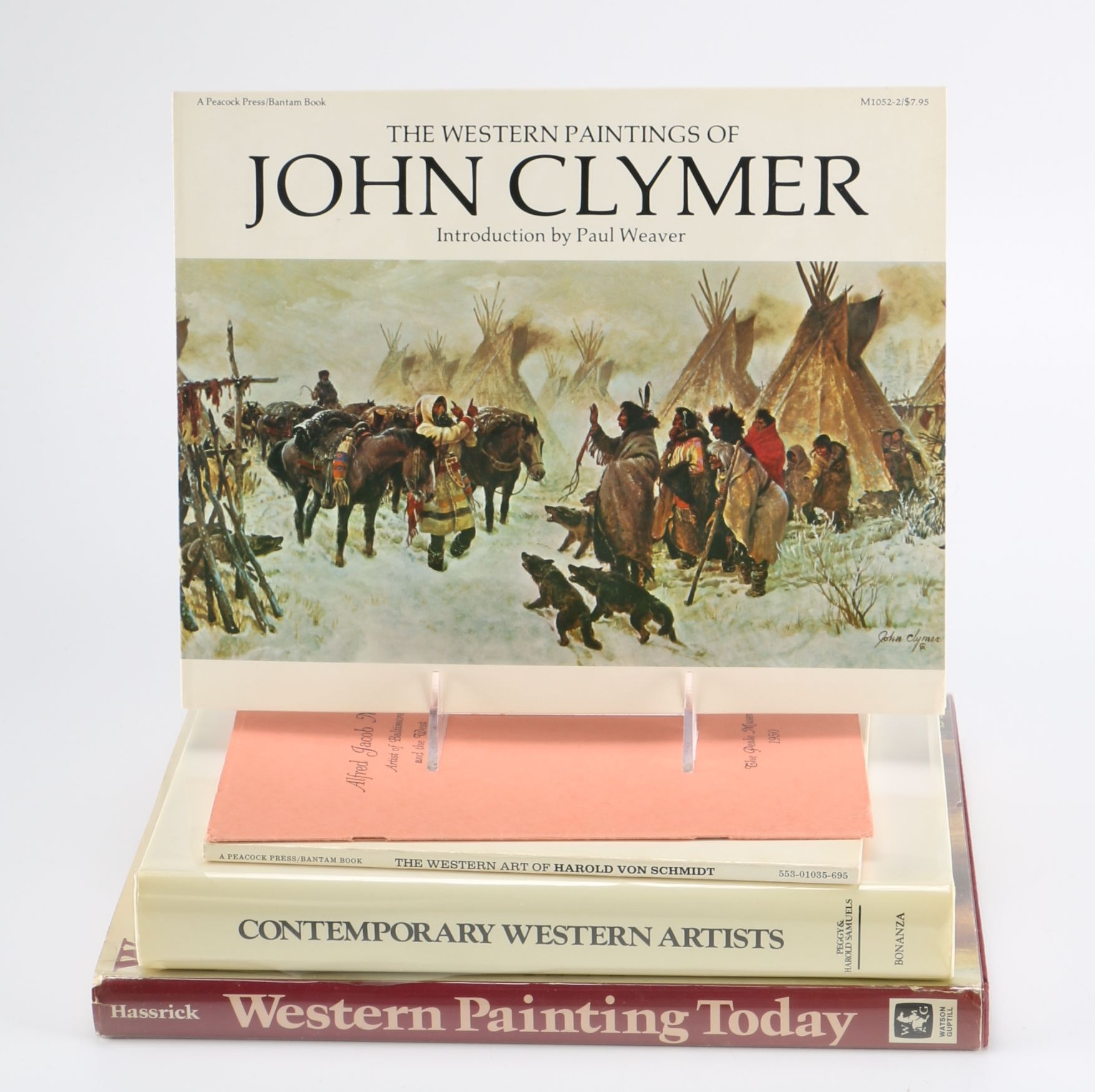 Collection of Books Featuring Contemporary Western Artwork