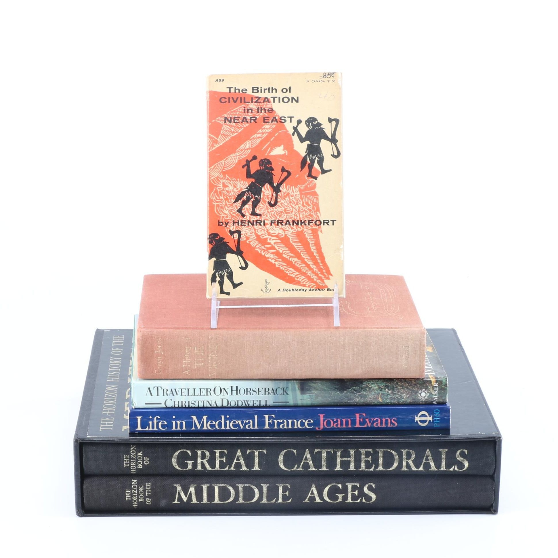 Ancient and Medieval History Books