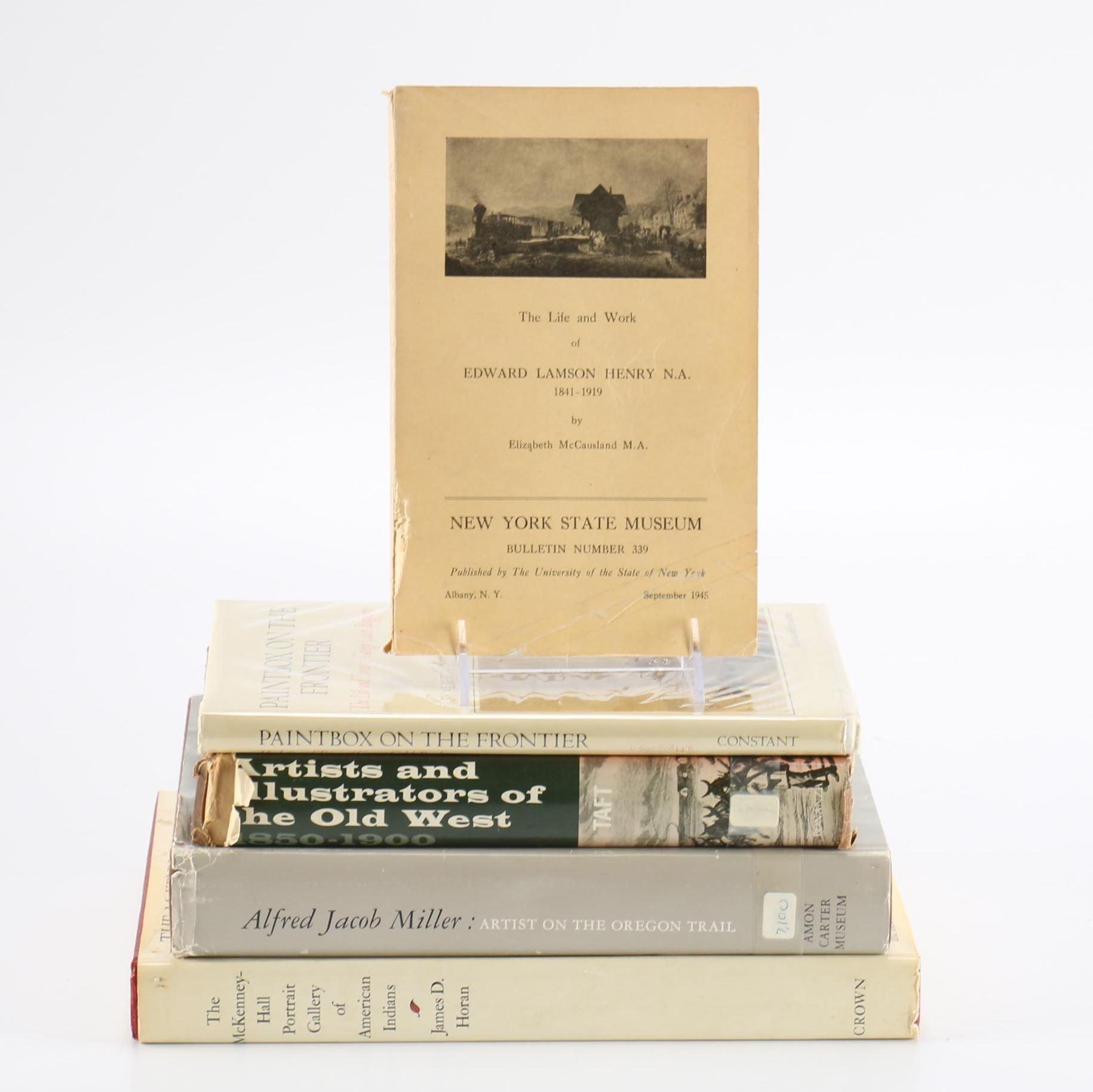 Western American Art Books