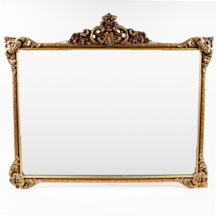 Vintage Gold Frame Mirror : EBTH
