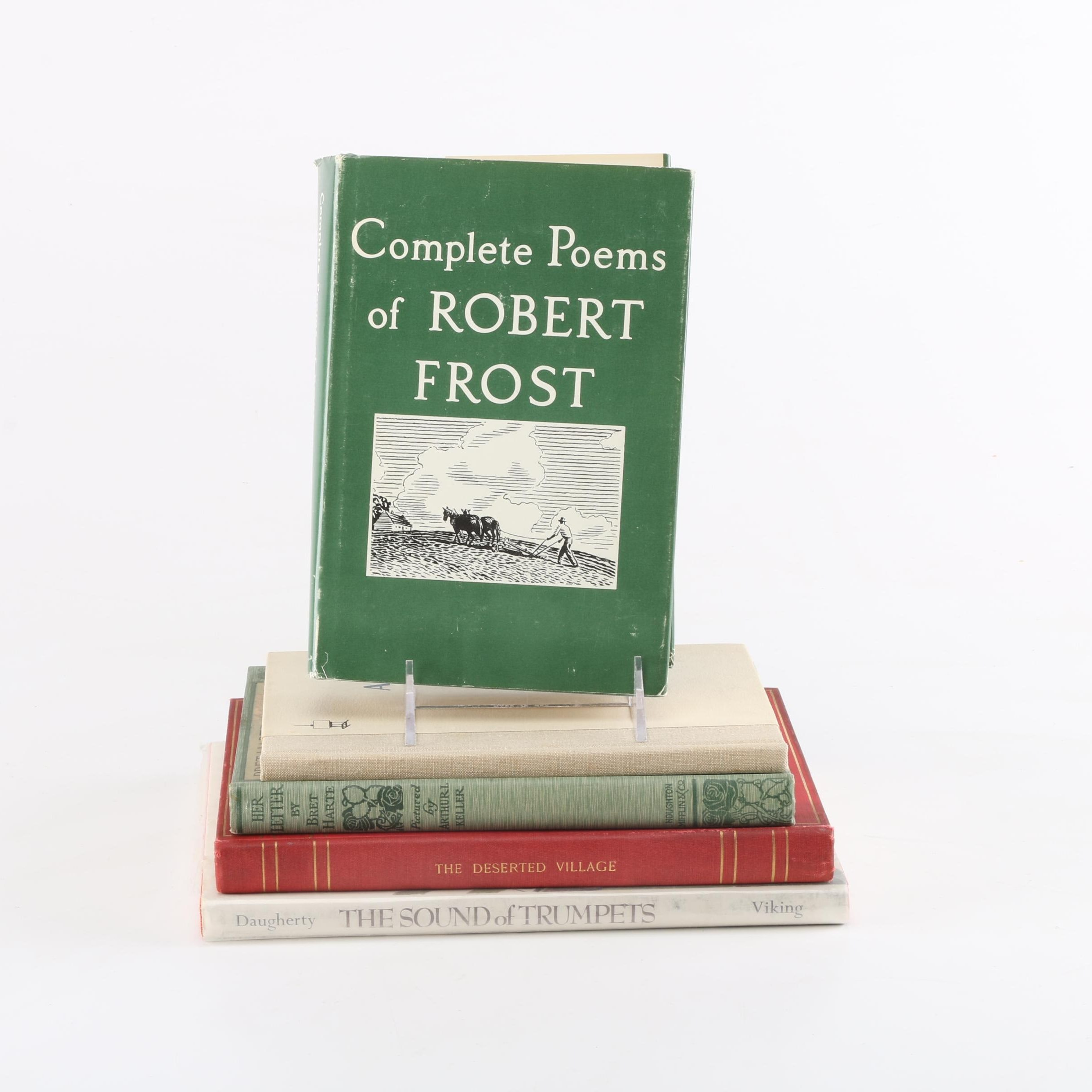 Poetry Books Featuring Robert Frost