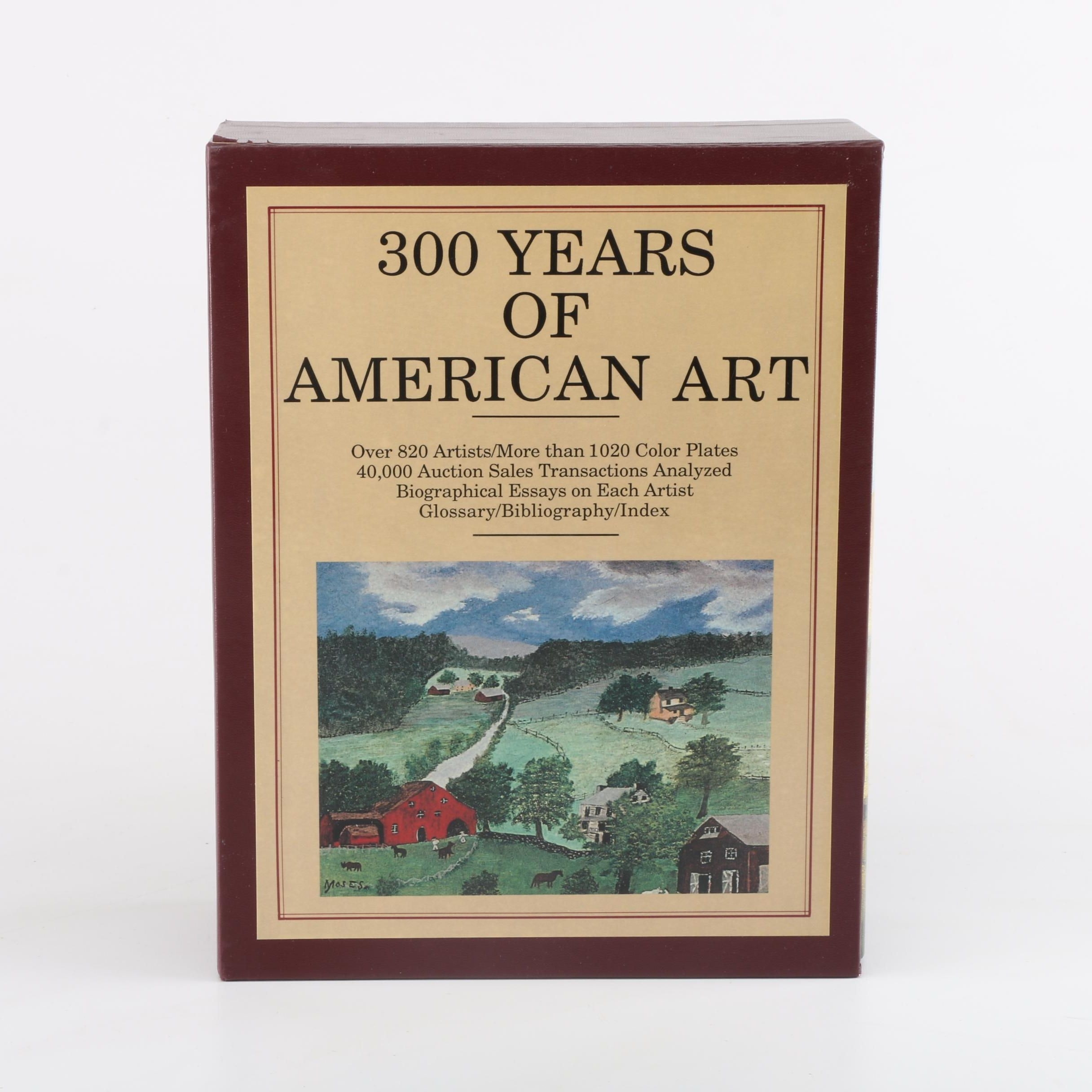 """300 Years of American Art"" Volume Set"