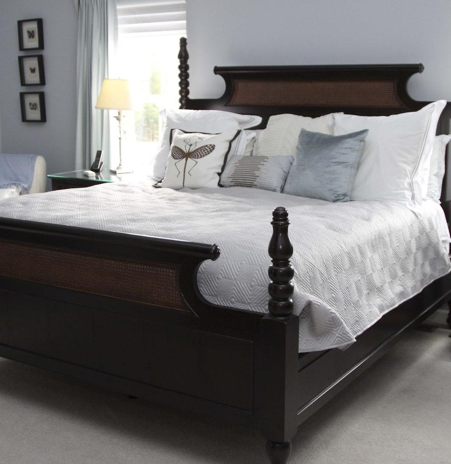 Step Stool For Bedroom Drexel Heritage Dakota King Bed And Step Stool Ebth